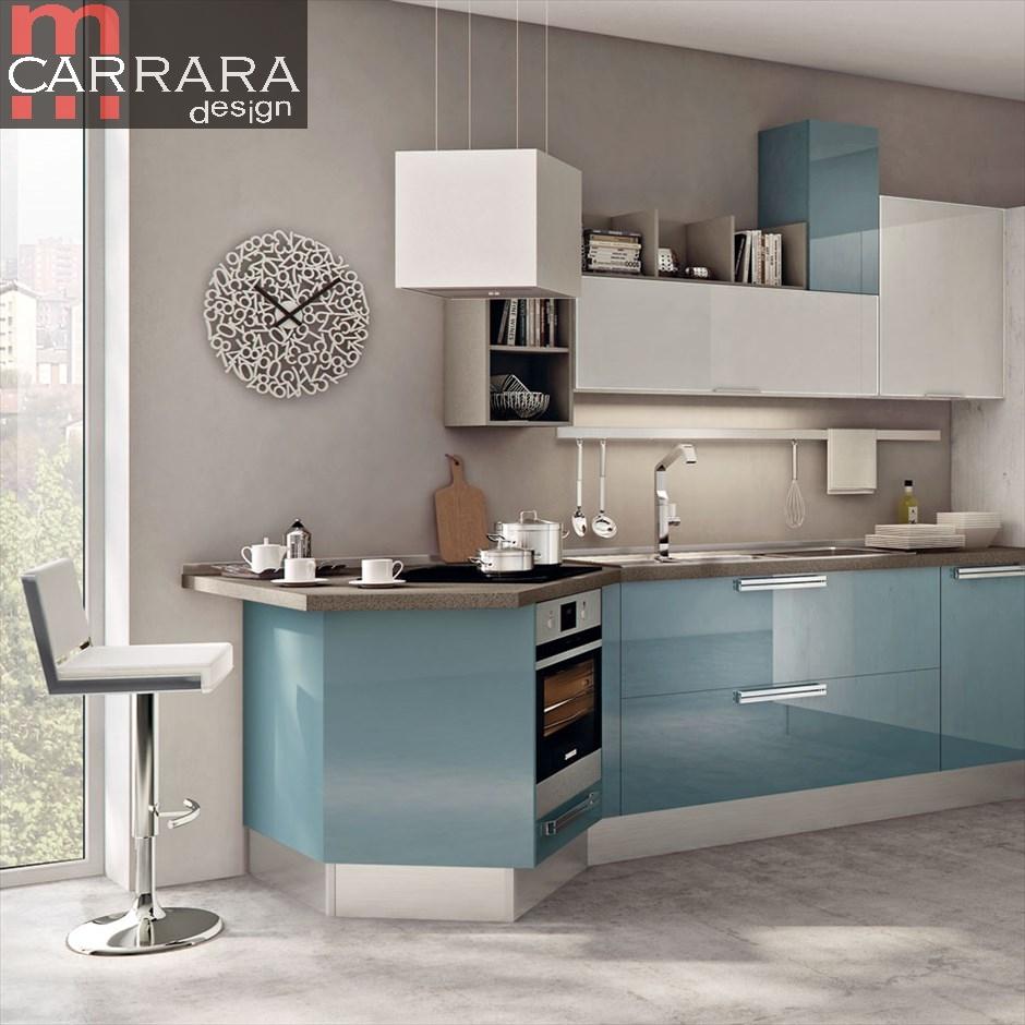 Offerte Cucina Componibile. Cool Cucina Lineare Moderna Cucine ...